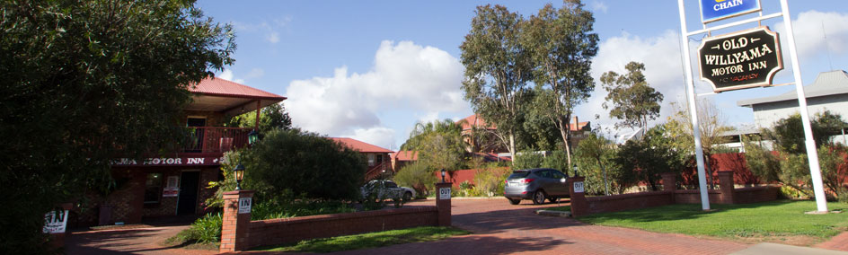 At Old Willyama Motor Inn we offer quality accommodation with friendly, attentive and relaxed service